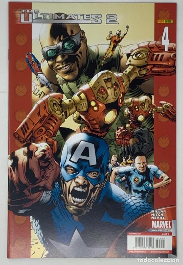 THE ULTIMATES 2 AÑO 1- NÚMERO 4. MILLAR HITCH NEARY EDICION LIMITADA PANINI CÓMICS. (Tebeos y Comics - Panini - Marvel Comic)