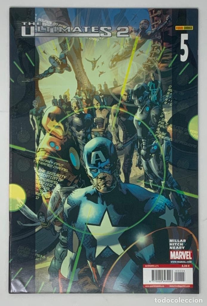 THE ULTIMATES 2 AÑO 1- NÚMERO 5. MILLAR HITCH NEARY EDICION LIMITADA PANINI CÓMICS. (Tebeos y Comics - Panini - Marvel Comic)