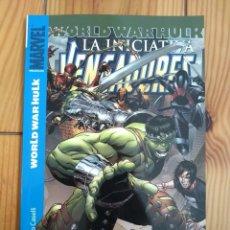 Cómics: VENGADORES LA INICIATIVA 2 - WORLD WAR HULK - IMPECABLE D6. Lote 181325186