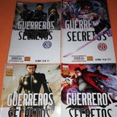 Cómics: GUERREROS SECRETOS. NUMEROS 20,21,22 Y 23 . . Lote 181462086