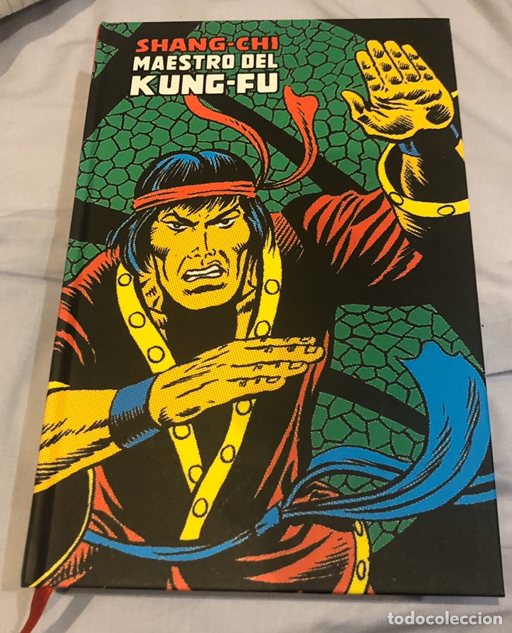 SHANG CHI MAESTRO DEL KUNG FU MARVEL LIMITED EDITION (Tebeos y Comics - Panini - Marvel Comic)