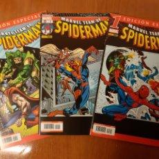 Cómics: MARVEL TEAM-UP SPIDERMAN VOL I 1 AL 18 Y VOL II 1 AL 19 COMPLETAS E IMPECABLES!. Lote 181766185
