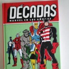 Cómics: DÉCADAS MARVEL EN LOS AÑOS 80: EVOLUCIONES INCREÍBLES. Lote 181768683