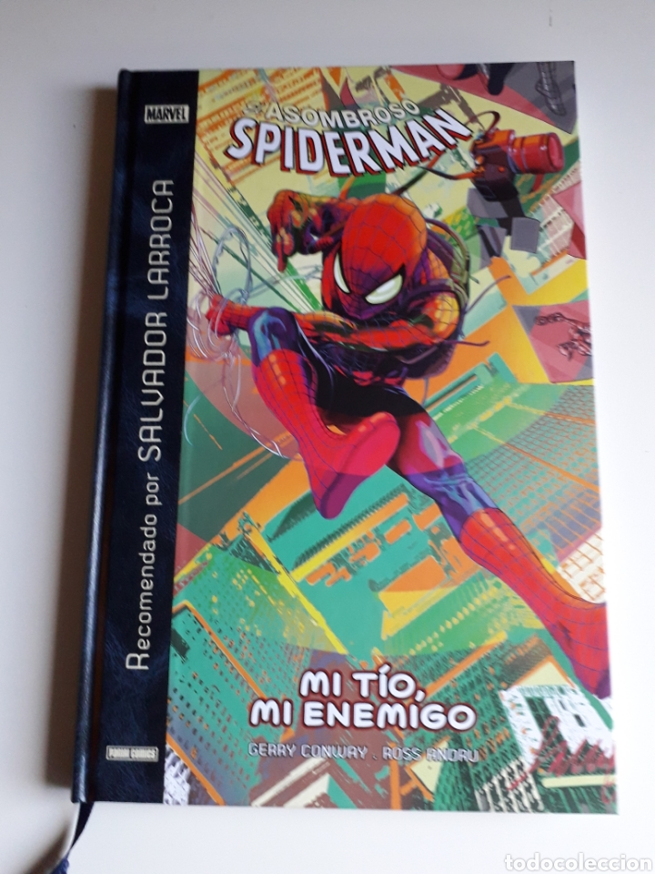 SPIDERMAN. TOMO MI TÍO, MI ENEMIGO (Tebeos y Comics - Panini - Marvel Comic)