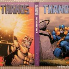 Cómics: THANOS. COLECCIÓN COMPLETA DE 2 TOMOS. PANINI COMICS 1ª EDICION 2005. Lote 182108933