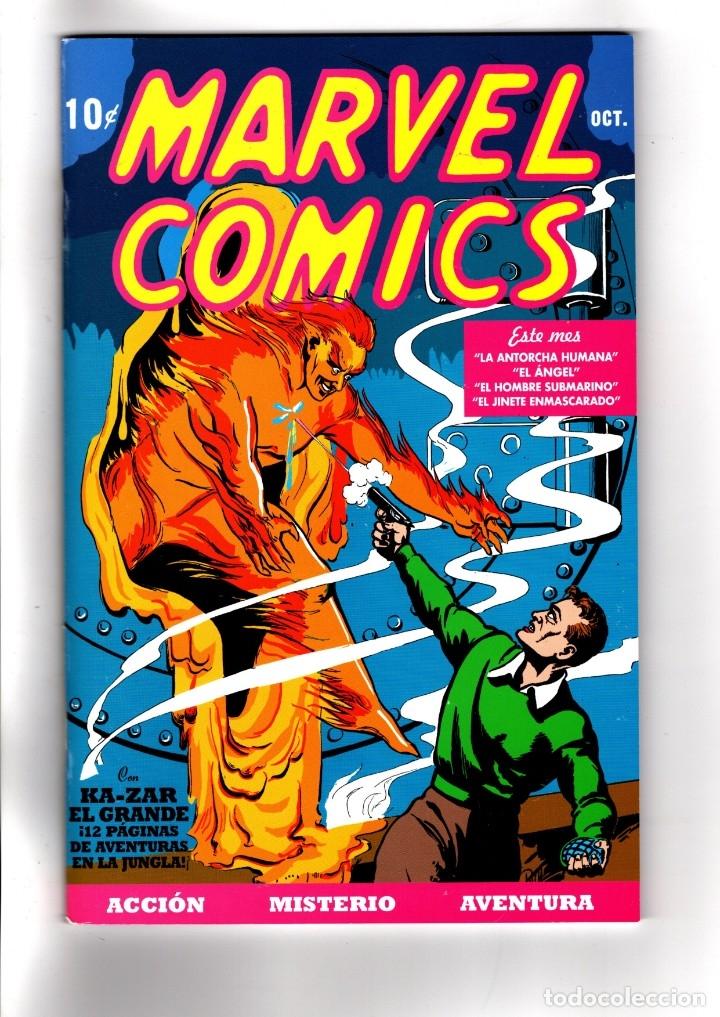 MARVEL COMICS 1 - PANINI / MARVEL FACSIMIL / GRAPA / REEDICIÓN DEL PRIMER COMIC PUBLICADO POR MARVEL (Tebeos y Comics - Panini - Marvel Comic)