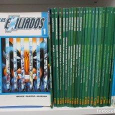 Cómics: LOS EXILIADOS - COLECCION COMPLETA - 24 TOMOS + EXTRA - MARVEL. Lote 182304705