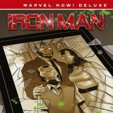 Cómics: MARVEL NOW! DELUXE Nº 13 IRON MAN Nº 2 EL ORIGEN SECRETO DE TONY STARK - PANINI - IMPECABLE - OFF15. Lote 182356576