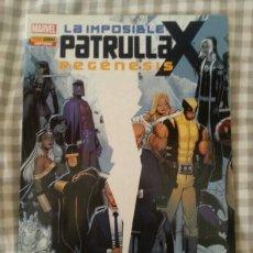 Comics: LA IMPOSIBLE PATRULLA X - REGENESIS - NUMERO UNICO. Lote 182382890