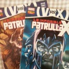 Cómics: LA IMPOSIBLE PATRULLA X 11 -12 (VVSX CONSECUENCIAS COMPLETA). Lote 182383056