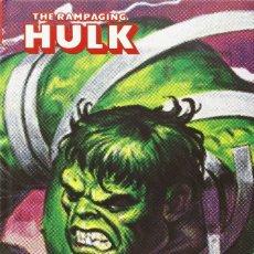Comics : HULK. THE RAMPAGING HULK. MARVEL LIMITED EDITION. 338 PÁGINAS. COMO NUEVO.. Lote 182595827
