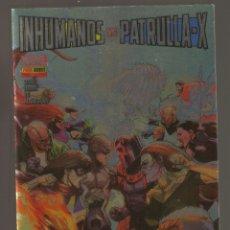 Cómics: INHUMANOS VS. PATRULLA-X VOL.1 - Nº1 - INHUMANOS VS. PATRULLA-X. PARTE 1 - PORTADA METALICA - PANINI. Lote 253343250