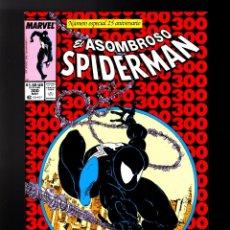 Cómics: ASOMBROSO SPIDERMAN / AMAZING SPIDER-MAN 300 PANINI MARVEL FACSIMIL GRAPA / PRIMERA APARICION VENENO. Lote 182618298