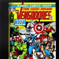 Cómics: VENGADORES / AVENGERS 98 99 100 - PANINI / MARVEL FACSIMIL / GRAPA / BARRY SMITH. Lote 182634205