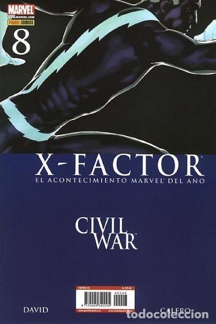 X-FACTOR VOL. 1 Nº 8 - PANINI - IMPECABLE (Tebeos y Comics - Panini - Marvel Comic)