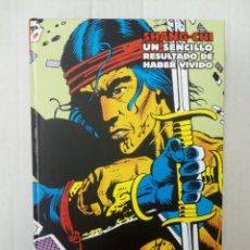 Cómics: MARVEL LIMITED EDITION. SHANG-CHI: UN SENCILLO RESULTADO DE HABER VIVIDO. Lote 182706543