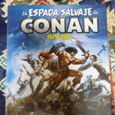 Comics : MARVEL LIMITED EDITION LA ESPADA SALVAJE DE CONAN TOMO 1 DESCATALOGADO NUEVO. Lote 182771473