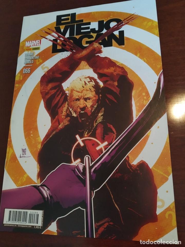 LOBEZNO Nº 66 - EL VIEJO LOGAN (Tebeos y Comics - Panini - Marvel Comic)