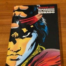 Cómics: SHANG-CHI: GUERREROS DEL AMANECER DORADO (MARVEL LIMITED EDITION). Lote 182913348