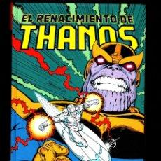 Comics: EL RENACIMIENTO DE THANOS - PANINI / MARVEL COLECCIÓN JIM STARLIN 1 TAPA DURA / ESTELA PLATEADA. Lote 182989485