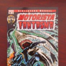 Cómics: MOTORISTA FANTASMA Nº 3 - BIBLIOTECA MARVEL - PANINI (7X). Lote 183092745