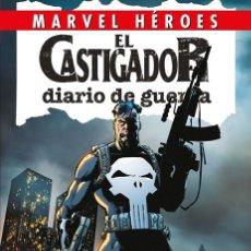 Cómics: CASTIGADOR DIARIO DE GUERRA - PANINI / MARVEL HEROES 81 / TAPA DURA. Lote 183203641