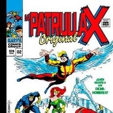 Cómics: LA PATRULLA-X ORIGINAL 02. ¿QUIEN OSA DESAFIAR A ... LOS DEMI-HOMBRES? . Lote 183322877