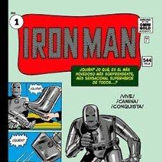 Cómics: IRON MAN 01: NACE IRON MAN (MARVEL GOLD). Lote 183323276