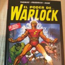 Cómics: WARLOCK TOMO EL PODER DE WARLOCK. LA SAGA DE LA CONTRATIERRA TOMO TAPA DURA. THANOS, LOS VENGADORES. Lote 183392443