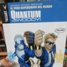 Cómics: QUANTUM AND WOODY. EL PEOR SUPERGRUPO DEL MUNDO. Lote 183418046