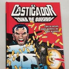 Cómics: EL CASTIGADOR : ZONA DE GUERRA - CHUCK DIXON - JOHN ROMITA JR. / 100 % MARVEL HC. Lote 183424417