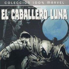 Cómics: COL. 100 % MARVEL - EL CABALLERO LUNA Nº 1 EL FONDO - PANINI - BUEN ESTADO - OFI15T. Lote 194659086