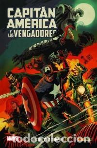 COL. 100 % MARVEL HC CAPITAN AMERICA Y LOS VENGADORES - PANINI - CARTONE - IMPECABLE - OFI15T (Tebeos y Comics - Panini - Marvel Comic)