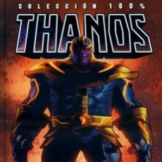 Cómics: COL. 100 % MARVEL HC THANOS EL REGRESO - PANINI - IMPECABLE - OFI15T. Lote 183643690