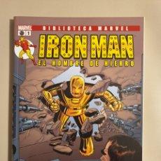 Cómics: BIBLIOTECA MARVEL IRON MAN. Lote 183912960