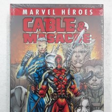 Cómics: CABLE & MASACRE. CIVIL WAR (MARVEL HÉROES) - NICIEZA, BROWN, LIM, JOHNSON - PANINI / MARVEL. Lote 184000438