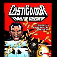 Cómics: CASTIGADOR ZONA DE GUERRA - PANINI / 100% MARVEL / TAPA DURA / CHUCK DIXON & JOHN ROMITA JR. Lote 184002405