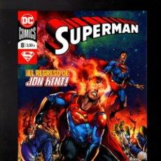 Cómics: SUPERMAN 8 - DC ECC GRAPA. Lote 178337970