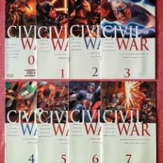 Cómics: COLECCIÓN COMPLETA 8 COMICS CIVIL WAR. EDICIÓN ESPECIAL. AÑO 2007.. Lote 179315203