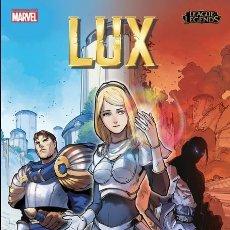 Cómics: LEAGUE OF LEGENDS : LUX - PANINI / TAPA DURA / NOVEDAD DICIEMBRE. Lote 184292302