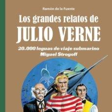 Cómics: LOS GRANDES RELATOS DE JULIO VERNE 2 - PANINI / EVOLUTION TAPA DURA / NOVEDAD DICIEMBRE. Lote 184292516