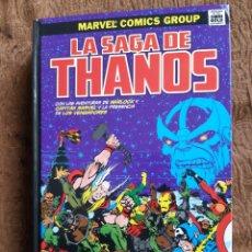 Cómics: TEBEOS-CÓMICS CANDY - LA SAGA DE THANOS - CAPITÁN MARVEL - WARLOCK - COMPLETA - AA98. Lote 184493902
