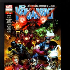 Comics: VENGADORES 1 - PANINI / MARVEL TOMO / ESPECIAL 100. Lote 184792348