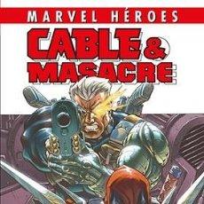 Cómics: CABLE & MASACRE 01. SI LAS MIRADAS MATASEN. Lote 184867782