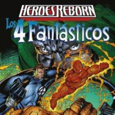 Cómics: HEROES REBORN : LOS CUATRO FANTASTICOS - PANINI / MARVEL / TAPA DURA / NUEVO DE EDITORIAL. Lote 184883593