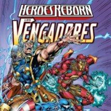 Cómics: HEROES REBORN : LOS VENGADORES - PANINI / MARVEL / TAPA DURA / NUEVO DE EDITORIAL. Lote 184884051