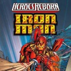 Cómics: HEROES REBORN : IRON MAN - PANINI / MARVEL / TAPA DURA / NUEVO DE EDITORIAL. Lote 184884391