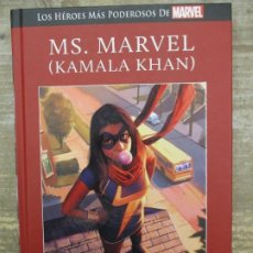 Cómics: LOS HEROES MAS PODEROSOS MARVEL - MS.MARVEL - KAMALA KHAN -TAPA DURA - LEE DESCRIPCION. Lote 185900393