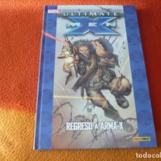 Cómics: ULTIMATE X MEN 2 REGRESO A ARMA X (MILLAR KUBERT) ¡PRECINTADO! PANINI MARVEL TAPA DURA COLECCIONABLE. Lote 185953800