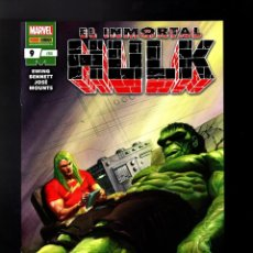Cómics: INMORTAL HULK 9 - PANINI / MARVEL GRAPA. Lote 185992905